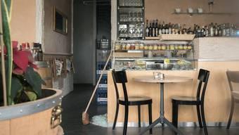 Liebevoll eingerichtet, für wen? Das Café am Hochbergerplatz ist zu.