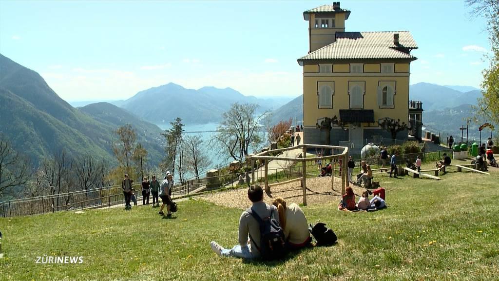 Vor allem Deutschschweizer geniessen Tapetenwechsel im Tessin