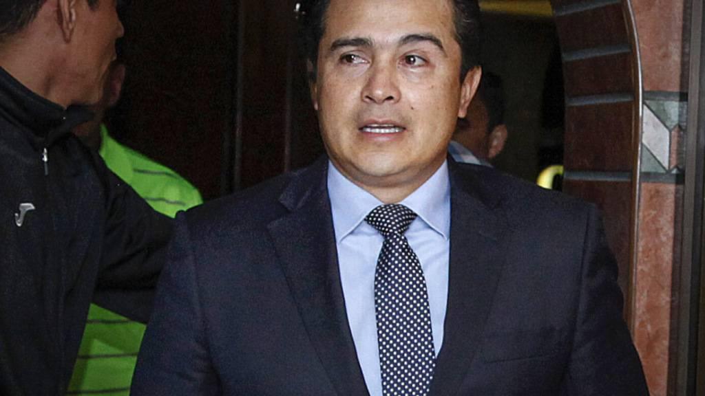 Lebenslänglich: Bruder des Präsidenten von Honduras in USA verurteilt