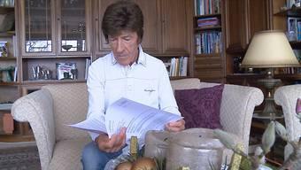 Robert Mayer, ein 76-jähriger Rentner, will die Aufnahme von Asylsuchenden von Oberwil-Lieli mit einer Beschwerde verhindern. (Archiv)