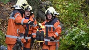 Hauptübund der Feuerwehr Weiningen