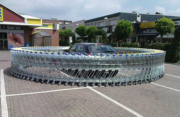 Einkaufswagen-Loop (Bild: prank.im)