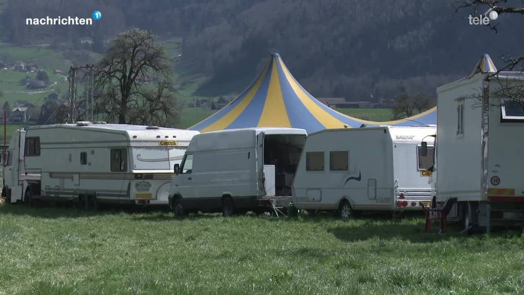 Zirkus sitzt wegen Corona in Ingebohl-Brunnen fest