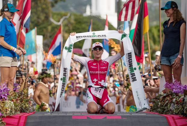 Der Ironman auf Hawaii bleibt das höchste der Gefühle für Triathletin Daniela Ryf.
