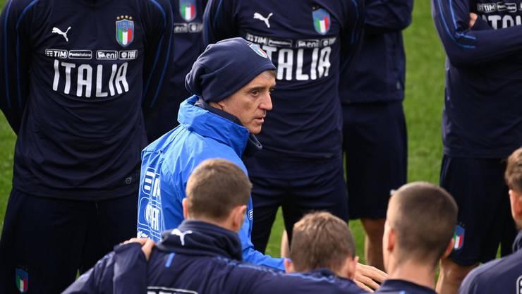 Führt Trainer Roberto Mancini Italien an die EM?