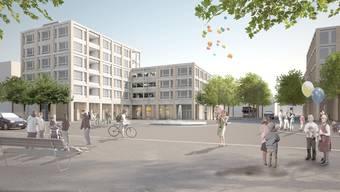 Coop und die Pill-Group-Apotheke eröffnen ihre neuen Verkaufsgeschäfte auf dem Areal des sanierten und erweiterten Geroldswiler Gemeindezentrums im Herbst 2020. (Archivbild)