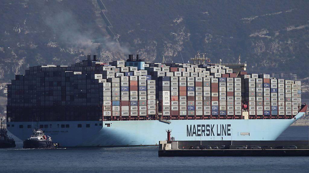 Der Handelsstreit macht dem Reeder Maersk zu schaffen. (Archivbild)