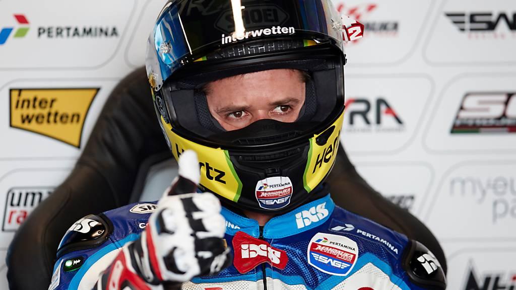 Tom Lüthi läuft es auch im Qualifying von Silverstone nicht wunschgemäss.