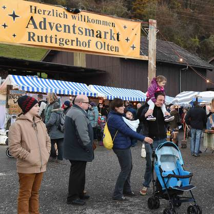 Gut besucht war der Adventsmarkt
