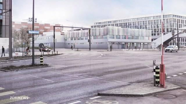 Bau von Bundesasylzentrum Zürich