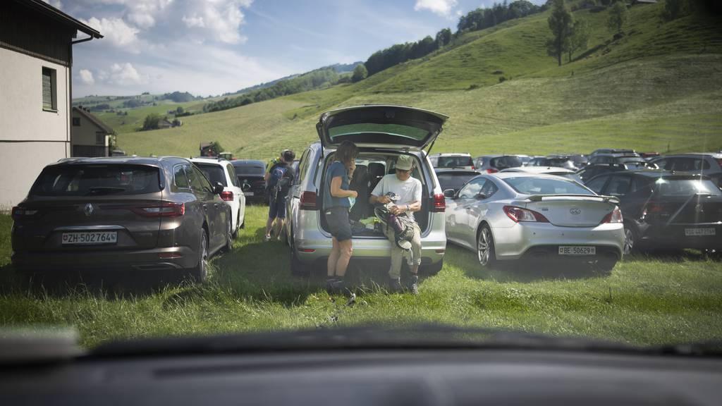 Parkplatzproblem in Wasserauen bei Wanderwetter: Eine Lösung rückt näher