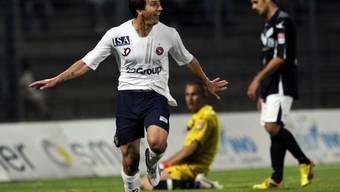 Der Genfer Julian Esteban traf zum 1:0 gegen Locarno