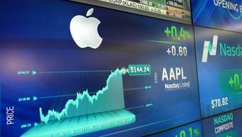 Apple knackt an der Börse einen weiteren Rekord und ist jetzt 800 Milliarden Dollar wert. (Archivbild)