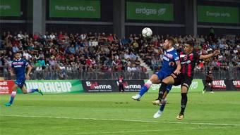 Stoke City FC spielt am Uhrencup 2017 gegen Xamax.