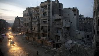 Ruhe im kriegsversehrten Aleppo. (Archiv)