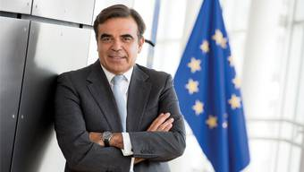 """Margaritis Schinas, Sprecher der EU-Kommission: """"Es ist nicht Zeit für Teilung und Fragmentierung, sondern für Stabilität."""""""