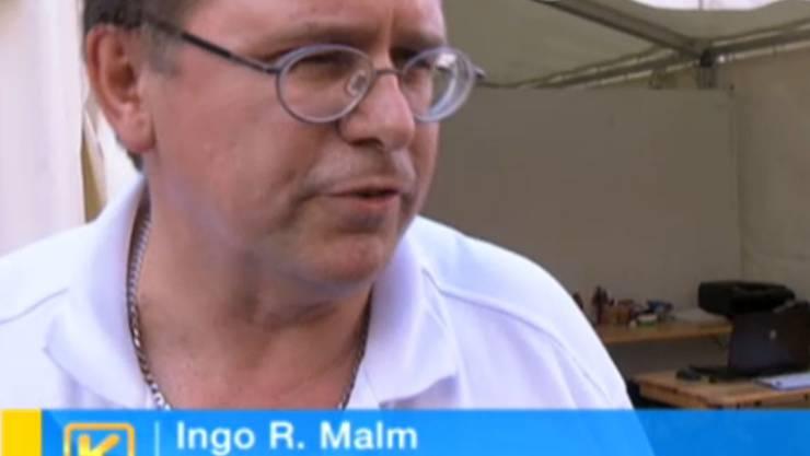 Ingo Malm rechtfertigt sich gegenüber Kassensturz.