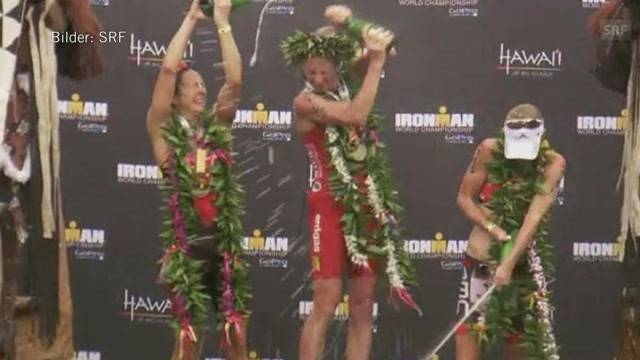 Daniela Ryf wird Ironman-Weltmeisterin