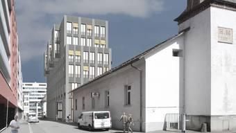Das Areal der Brauerei Müller wird neu überbaut