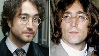 Sean Lennon, links, ist offensichtlich der Sohn von John Lennon, rechts: Weil zudem die Vornamen im Englischen ähnlich klingen, kam es bei einem Treffen mit Rammstein zum Missverständnis und Lennon-Sohn Sean flog backstage raus. (Archivbilder)