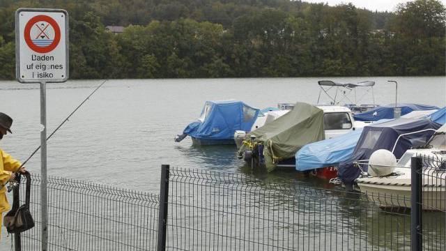 Szene am Schiffenensee, in dem das Kind gefunden wurde (Archiv)