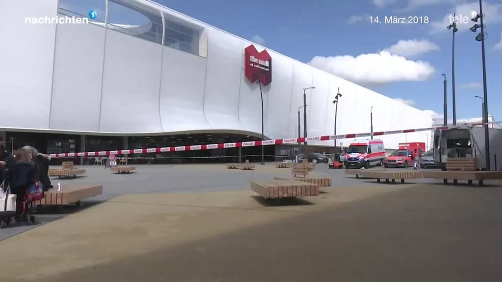 Bombendroher der Mall of Switzerland verurteilt