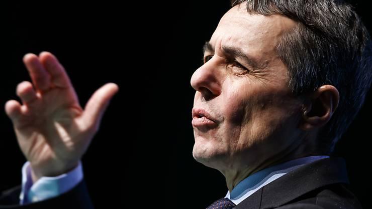 Bundesrat Ignazio Cassis forderte Westschweizer Unternehmer dazu auf, in der Europa-Debatte Farbe zu bekennen.