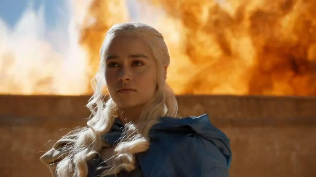 Schauspielerin Emilia Clarke als Daenerys Targaryen.