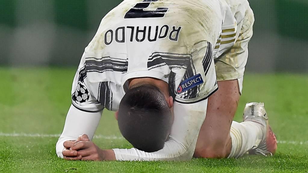 Cristiano Ronaldo schafft es nicht, den Champions-League-Titel nach Turin zu holen
