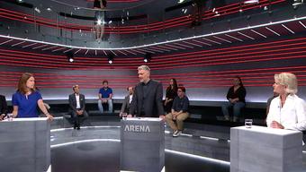 Auch im Leutschenbach kehrt langsam wieder Normalität ein und die «Arena» kann sich wieder einiger Zuschauer erfreuen.