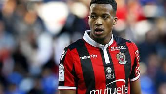 Leitete den Sieg von Nice gegen Guingamp mit dem 1:0 ein: Alassane Pléa