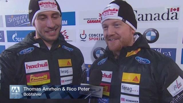 Goldmedaille für Aargauer Bobfahrer