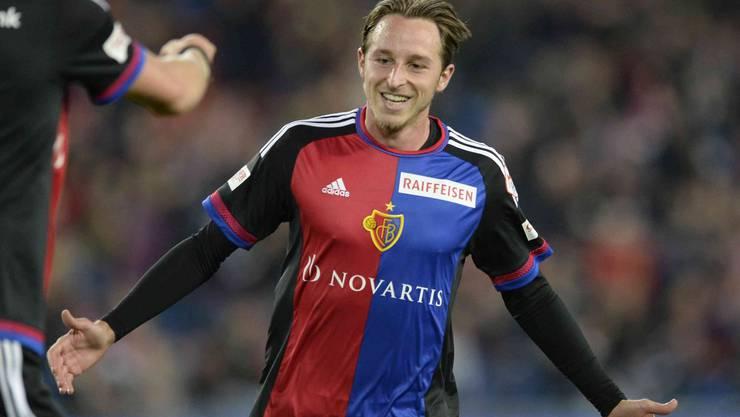Luca Zuffi freute sich über seine beiden Tore gegen Lugano.