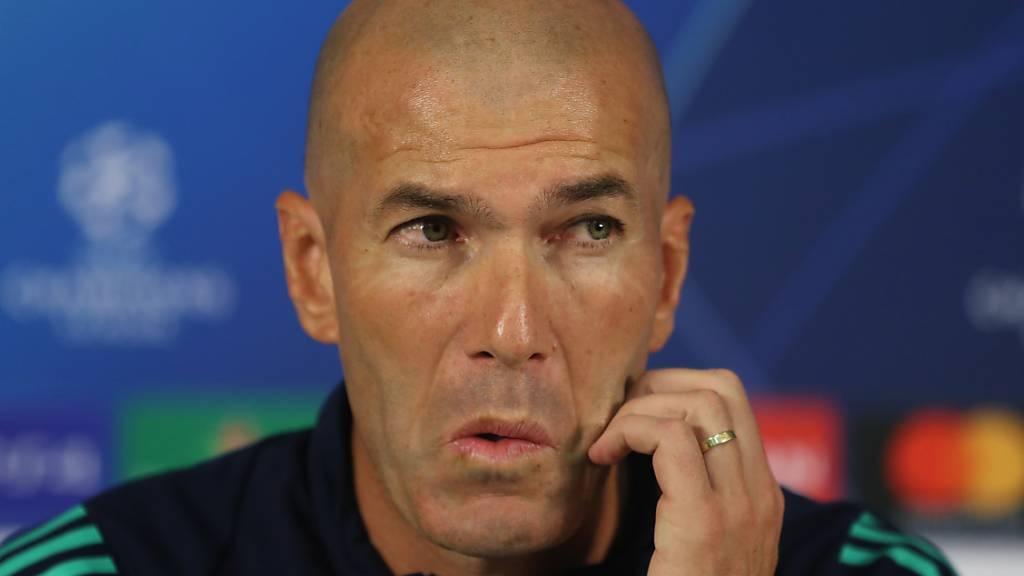 Zinedine Zidane ist in der Türkei gefordert