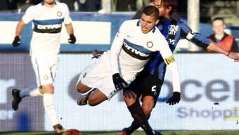 Inter Mailand (hier Captain Mauro Icardi) ist in Schieflage geraten.
