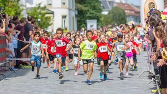 Impressionen vom 4. Aarauer Altstadtlauf 2018
