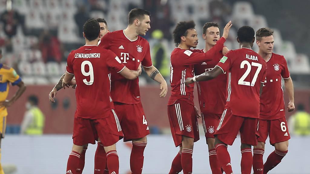 Nach Benjamin Pavards Tor konnten die Bayern jubeln. Es stellte sich als das Siegestor heraus.