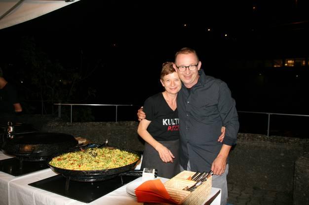 Paella-Zauberin Katharina Galizia und Bruder Philipp