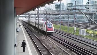 Der Personenverkehr auf den Schienen hat in den ersten drei Monaten des Jahres stark zugelegt: So viele Reisende, wie in diesem ersten Quartal unterwegs waren, werden üblicherweise erst im dritten Quartal erfasst. (Symbolbild)