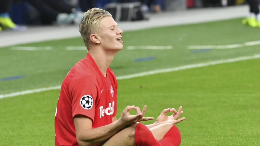 Der Norweger Erling Haaland ist im Alter von erst 19 Jahren zu Österreichs Fussballer des Jahres gewählt worden.
