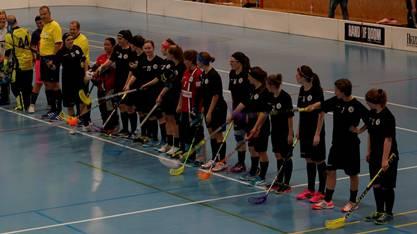 Die NLB-Frauen von Unihockey Basel Regio