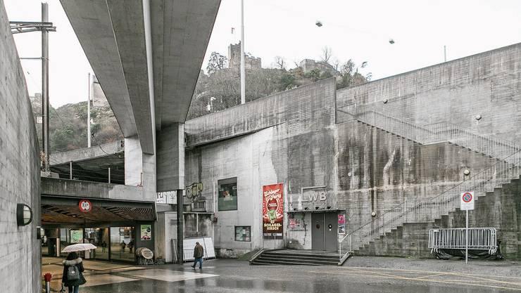 Eine der trostlosesten Ecken der Stadt soll schöner werden: Der Zugang zum «Blinddarm» beim LWB.
