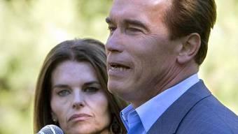 Arnold Schwarzenegger und Maria Shriver sind erleichtert