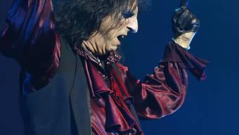 Alice Cooper spielt auf der Bühne den Bösewicht: «Ich bin bin privat wahrscheinlich das totale Gegenteil von Alice Cooper».