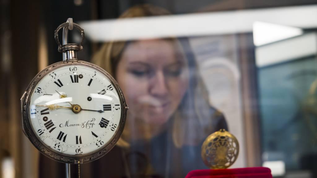 Uhrenverband rechnet mit einem Exportrückgang um 25 bis 30 Prozent
