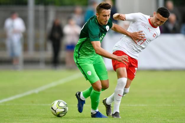 Im Schweizer Trikot spielte Vargas für die Nachwuchsteams, aber noch nie für die A-Nati. Ändert sich das am Sonntag gegen Gibraltar?