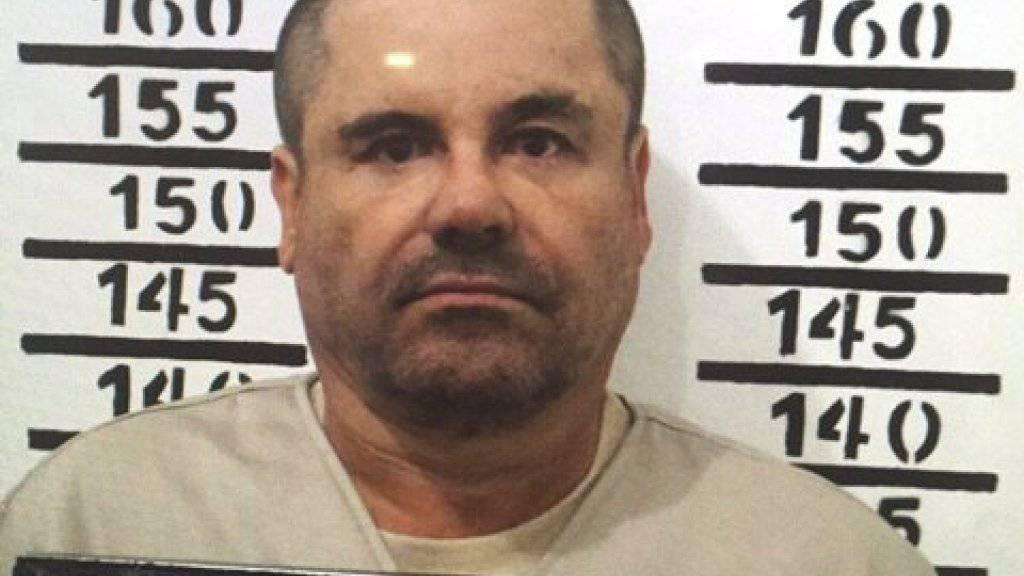 """Drogenboss will nicht in die USA: """"El Chapo"""" wehrt sich gegen seine Auslieferung aus Mexiko. (Archivbild)"""