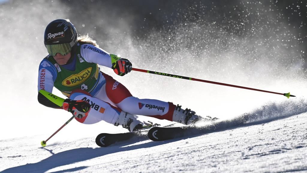 Lara Gut-Behrami wird in Sölden Zweite – Shiffrin gewinnt
