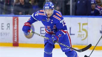Am Montag im Zürcher Hallenstadion zu bestaunen: St.Petersburgs Superstar Pavel Datsjuk.Imago