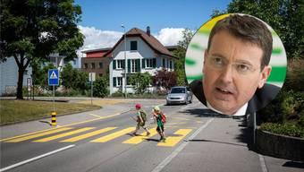 Unfälle bei Zebrastreifen häufen sich immer mehr. SVP-Nationalrat Thomas Burgherr will die Fussgänger nun schützen, indem er ihren Vortritt abschafft.